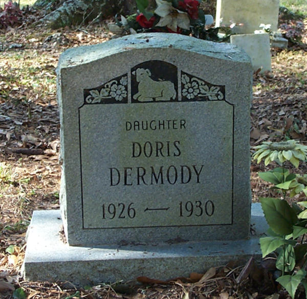 Doris Dermody Gravestone Photo