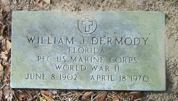 William J. Dermody Gravestone Photo