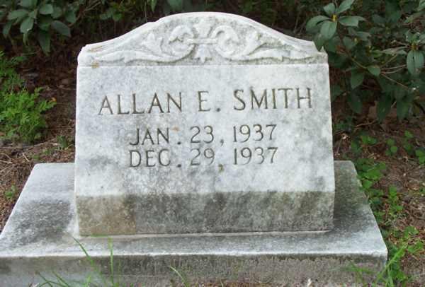 Allan E. Smith Gravestone Photo