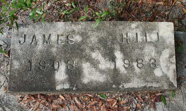 James Hill Gravestone Photo