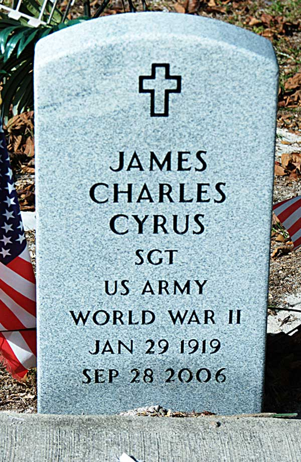 James Charles Cyrus Gravestone Photo