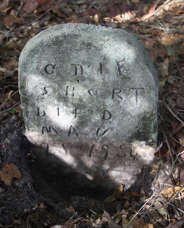 Anie Short Gravestone Photo