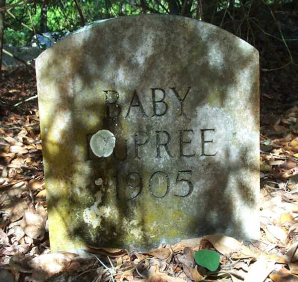 Baby Dupree Gravestone Photo