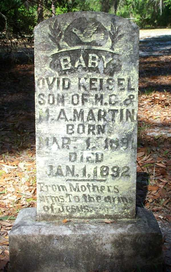 Ovid Keisel Martin Gravestone Photo