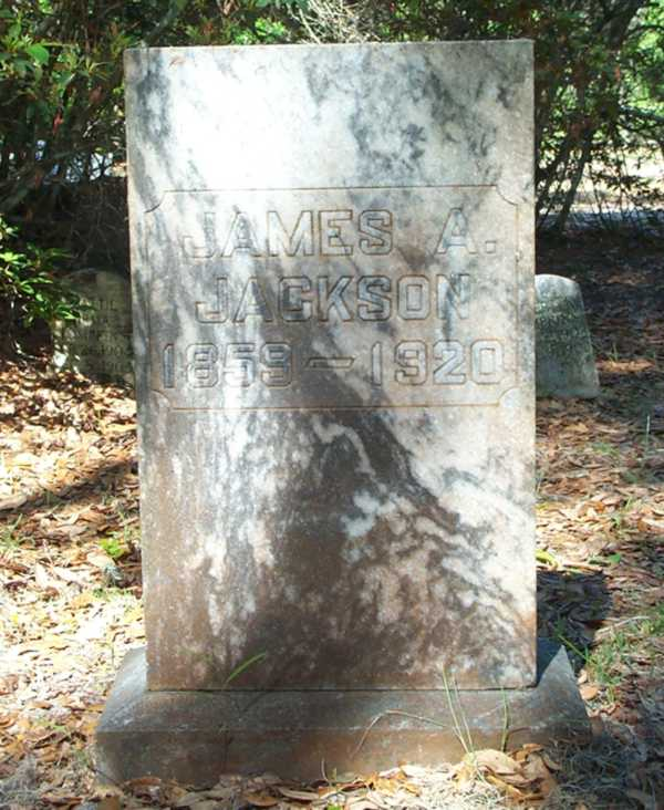 James A. Jackson Gravestone Photo