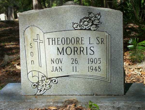 Theodore L. Morris Gravestone Photo