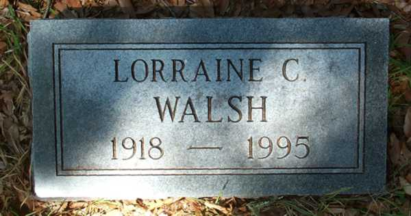 Lorraine C. Walsh Gravestone Photo