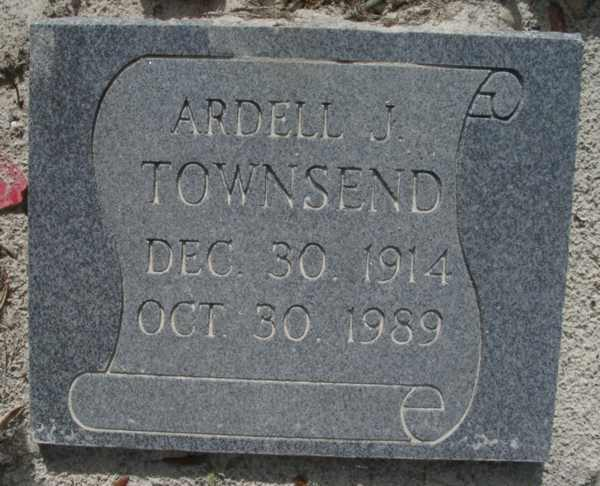 Ardell J. Townsend Gravestone Photo