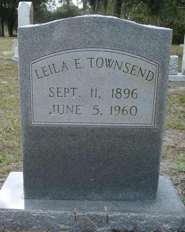 Leila E. Townsend Gravestone Photo