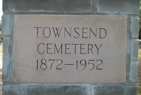 Townsend Cemetery Gravestone Photo