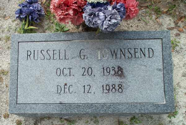 Russell G. Townsend Gravestone Photo