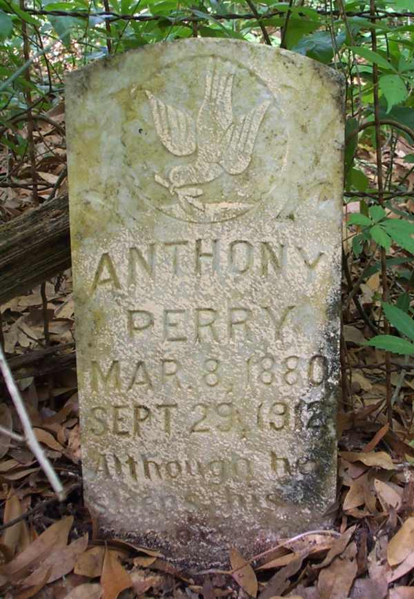 Anthony Perry Gravestone Photo