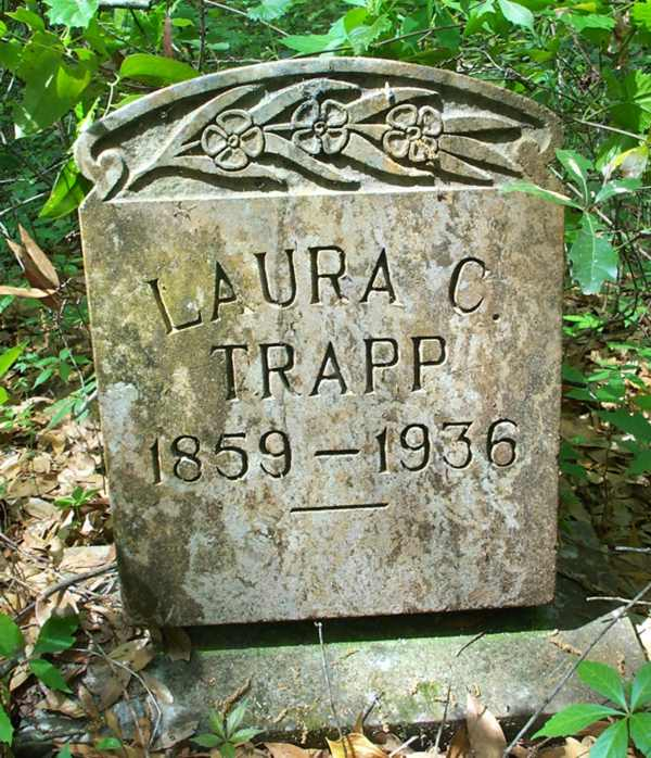 Laura C. Trapp Gravestone Photo