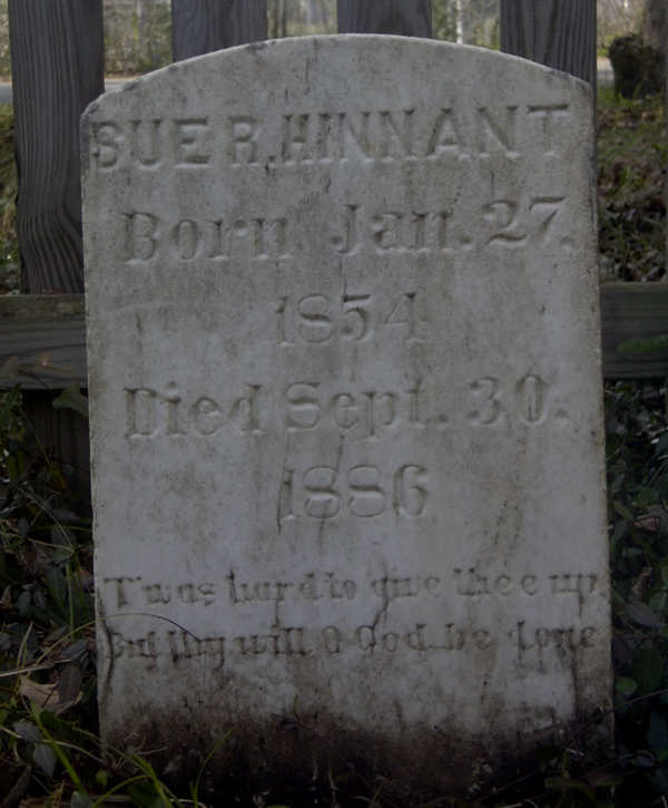 Sue R. Hinnant Gravestone Photo