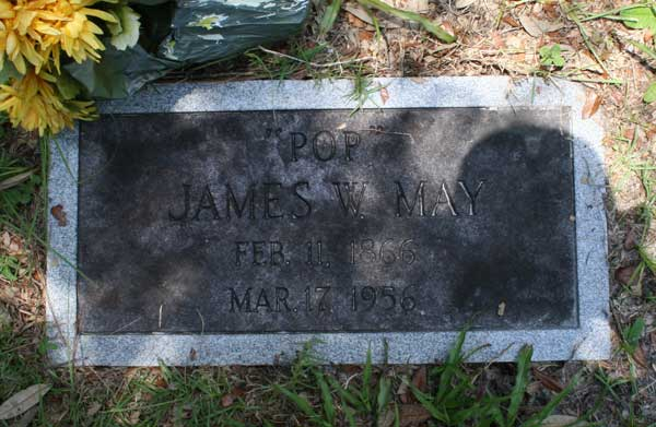 James W. May Gravestone Photo