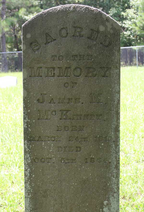 James M. McKinney Gravestone Photo