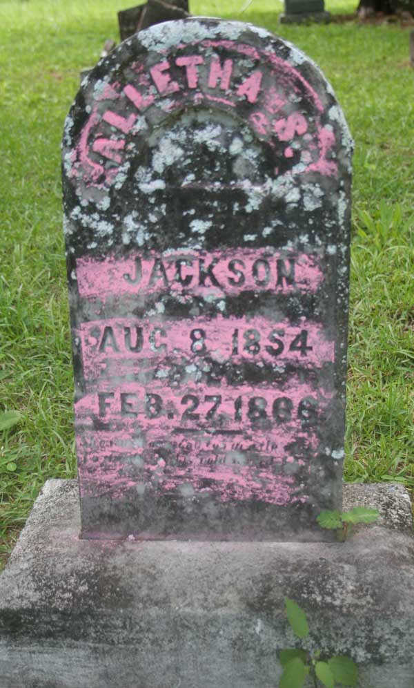 Alletha S. Jackson Gravestone Photo