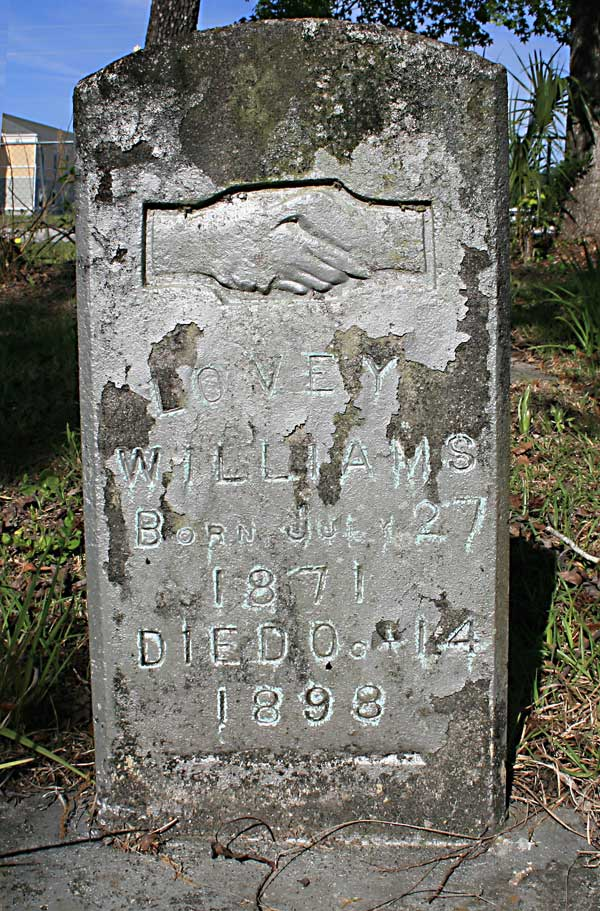 Lovey Williams Gravestone Photo
