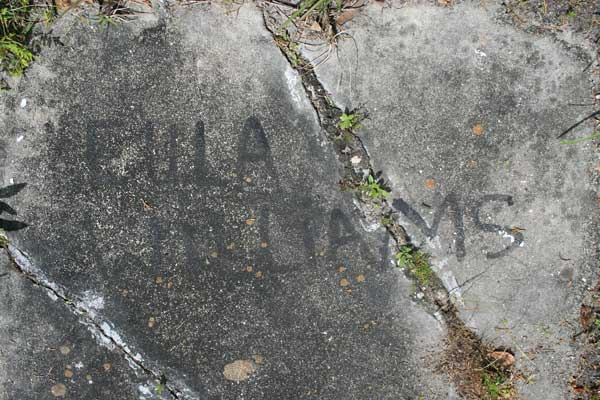 Eula Williams Gravestone Photo