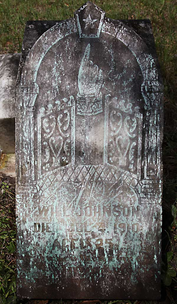 Will Johnson Gravestone Photo