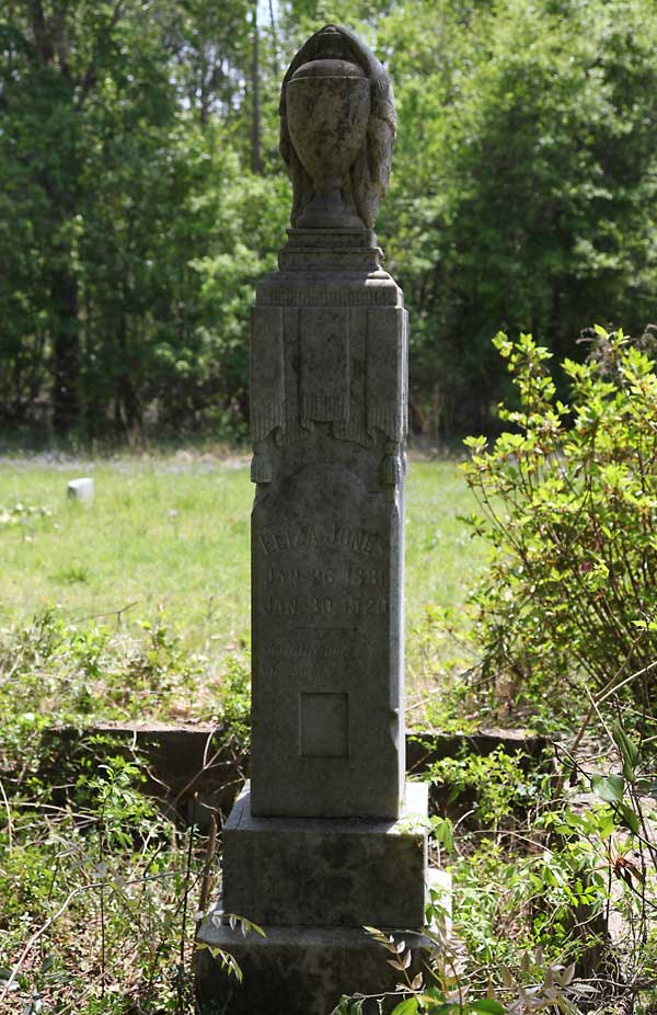 Euloa (?) Jones Gravestone Photo