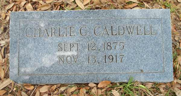 Charlie C. Caldwell Gravestone Photo
