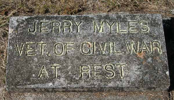 Jerry Myles Gravestone Photo