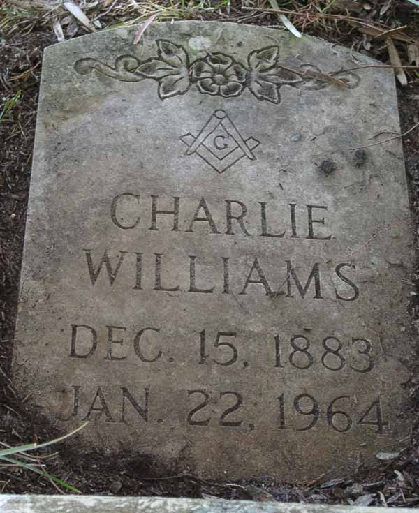 Charlie Williams Gravestone Photo