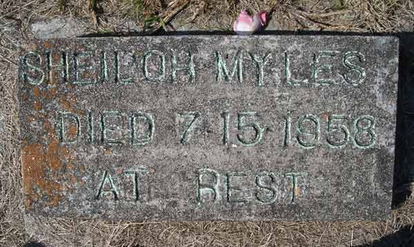 Sheiloh Myles Gravestone Photo