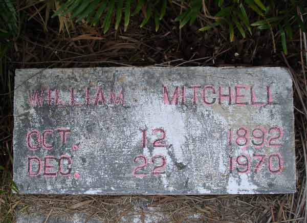 William Mitchell Gravestone Photo